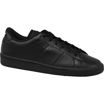 Buty Dziecko Trampki Nike Tennis Classic Prm Gs 834123-001 Czarne