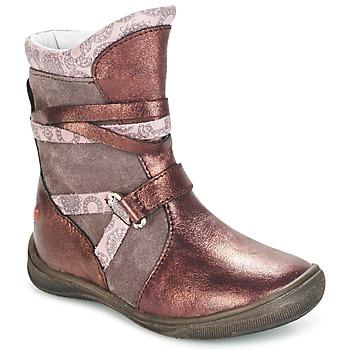 Buty Dziewczynka Buty za kostkę GBB ROSANA Różowy / BORDEAUX