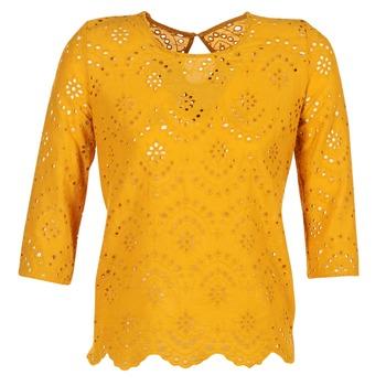 tekstylia Damskie Topy / Bluzki Betty London GRIZ żółty