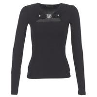 tekstylia Damskie Topy / Bluzki Versace Jeans B2HQA732 Czarny