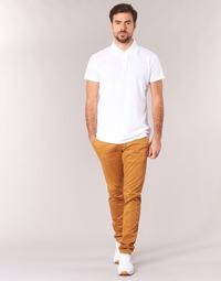 tekstylia Męskie Chinos Casual Attitude IHOCK Beżowy