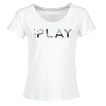 tekstylia Damskie T-shirty z krótkim rękawem Only Play LINDA Biały