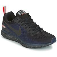 Buty Damskie Bieganie / trail Nike AIR ZOOM PEGASUS 34 SHIELD Czarny / Niebieski