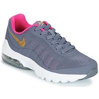 Buty Dziewczynka Trampki niskie Nike AIR MAX INVIGOR GRADE SCHOOL Niebieski / Różowy