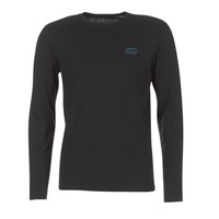 tekstylia Męskie T-shirty z długim rękawem Oxbow TEITH Czarny