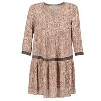 tekstylia Damskie Sukienki krótkie See U Soon ROBI Różowy