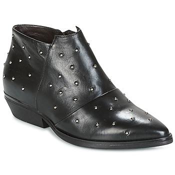 Buty Damskie Low boots Mjus CHRISSIE STUD Czarny