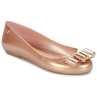 Buty Damskie Baleriny Melissa VW SPACE LOVE 18 ROSE GOLD BUCKLE Różowy / Gold