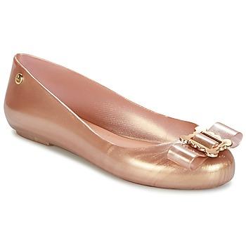 Buty Damskie Baleriny Melissa VW SPACE LOVE 18 ROSE GOLD BUCKLE Różowy / Gold