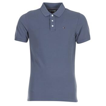 tekstylia Męskie Koszulki polo z krótkim rękawem Tommy Jeans THDM BASIC POLO S/S 1 Szary