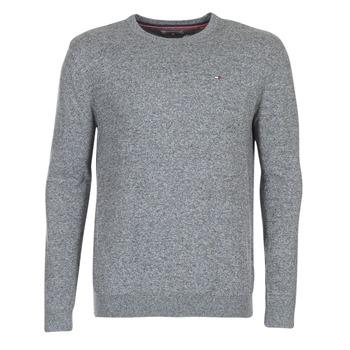 tekstylia Męskie Swetry Tommy Jeans THDM BASIC CN SWEATER 11 Szary