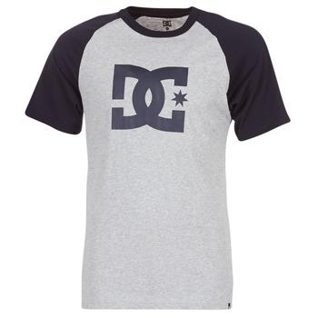 tekstylia Męskie T-shirty z krótkim rękawem DC Shoes STAR RAGLAN SS Czarny / Szary