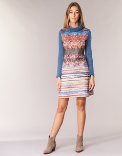 tekstylia Damskie Sukienki krótkie Smash KRIVAN Wielokolorowe