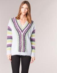 tekstylia Damskie Swetry Smash CAMIEL Wielokolorowe