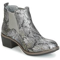 Buty Damskie Botki LPB Shoes CAROLE Szary