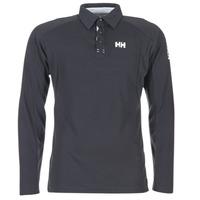 tekstylia Męskie Koszulki polo z długim rękawem Helly Hansen HP SHORE MARINE