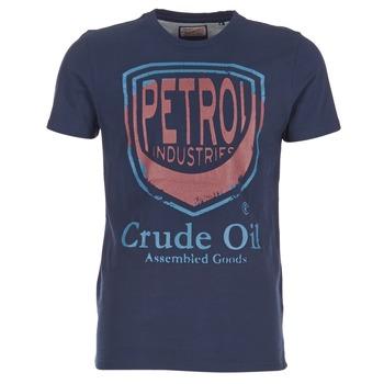 tekstylia Męskie T-shirty z krótkim rękawem Petrol Industries TIRCO MARINE