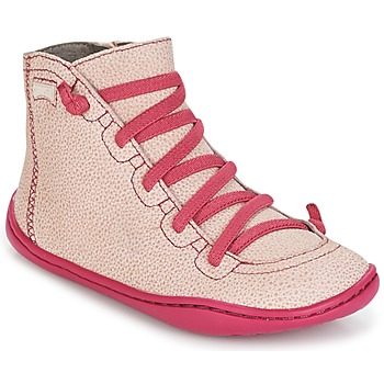 Buty Dziewczynka Trampki wysokie Camper PEU CAMI Różowy