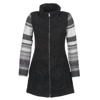 tekstylia Damskie Płaszcze Desigual GRAME Czarny