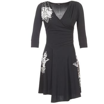 tekstylia Damskie Sukienki krótkie Desigual GRAFU Czarny