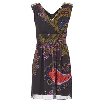 tekstylia Damskie Sukienki krótkie Desigual GERCO Wielokolorowe