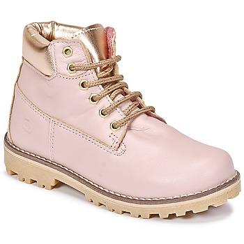Buty Dziewczynka Buty za kostkę Citrouille et Compagnie HICHOU Różowy