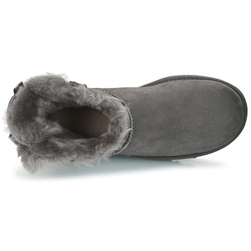 MINI BAILEY BOW II  UGG  buty za kostkę  damskie  szary