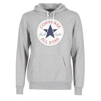 tekstylia Męskie Bluzy Converse CORE GRAPHIC PULLOVER HOODIE Szary