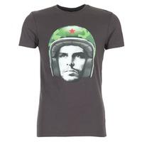 tekstylia Męskie T-shirty z krótkim rękawem Le Temps des Cerises CUBA Szary