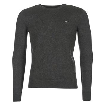 tekstylia Męskie Swetry Tom Tailor GRUS Czarny