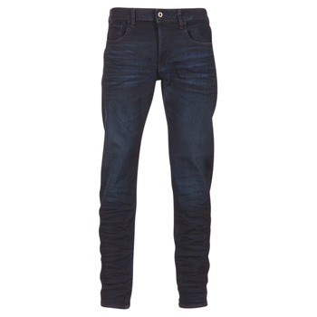 tekstylia Męskie Jeansy slim fit G-Star Raw 3301 DECONSTRUCTED SLIM Niebieski
