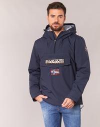tekstylia Męskie Kurtki ocieplane Napapijri RAINFOREST Marine