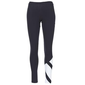 tekstylia Damskie Legginsy adidas Originals EQT LEGGINGS Czarny / Biały