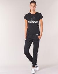 tekstylia Damskie Spodnie dresowe adidas Originals ESS 3S PANT CH Czarny