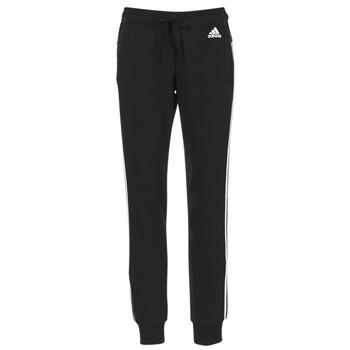 tekstylia Damskie Spodnie dresowe Adidas Performance PAP ESS 3S PANT CH Czarny