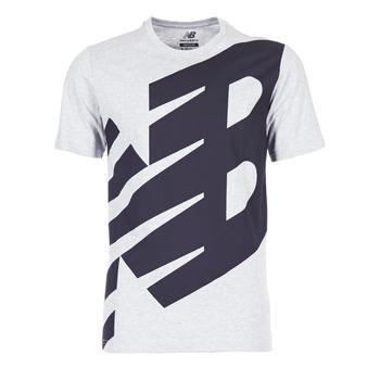 tekstylia Męskie T-shirty z krótkim rękawem New Balance NB ESSENTIEL T Szary