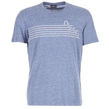 tekstylia Męskie T-shirty z krótkim rękawem Diesel JOE QF Marine