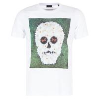 tekstylia Męskie T-shirty z krótkim rękawem Diesel JOE QM Biały