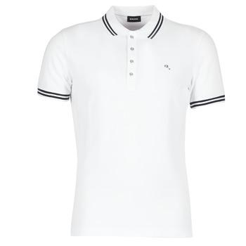 tekstylia Męskie Koszulki polo z krótkim rękawem Diesel RANDY Biały