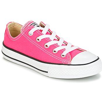 Buty Dziewczynka Trampki niskie Converse CHUCK TAYLOR ALL STAR SEASONAL OX PINK POW Różowy