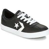Buty Dziecko Trampki niskie Converse BREAKPOINT FOUNDATIONAL LEATHER BP OX BLACK/WHITE/BLACK Czarny / Biały