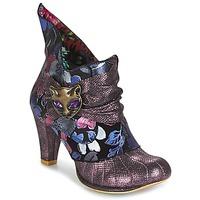 Buty Damskie Low boots Irregular Choice MIAOW Fioletowy
