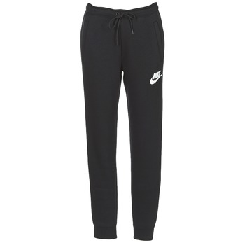 tekstylia Damskie Spodnie dresowe Nike RALLY PANT Czarny / Biały