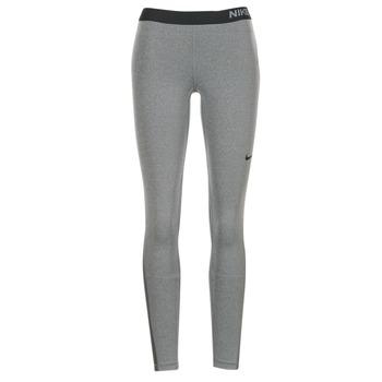 tekstylia Damskie Legginsy Nike NIKE PRO TIGHT Szary / Czarny
