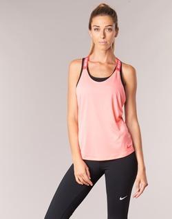 tekstylia Damskie Topy na ramiączkach / T-shirty bez rękawów Nike NIKE DRY TANK ELASTIKA Różowy / Czerwony