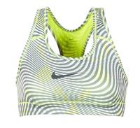 tekstylia Damskie Biustonosze Nike NIKE PRO CLASSIC BRA Żółty / Szary