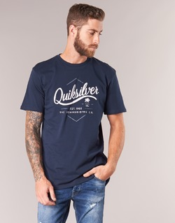 tekstylia Męskie T-shirty z krótkim rękawem Quiksilver CLATESEATALES Marine