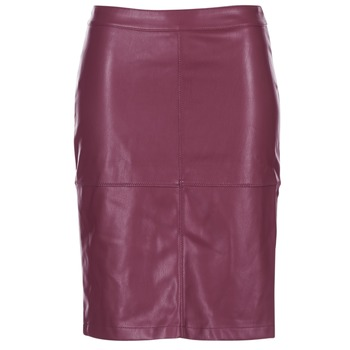 tekstylia Damskie Spódnice Vila VIPEN Bordeaux