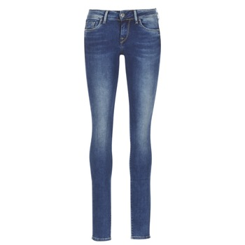 tekstylia Damskie Jeansy slim fit Pepe jeans SOHO Niebieski / Medium