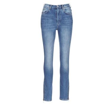tekstylia Damskie Jeansy slim fit Pepe jeans GLADIS Niebieski / Clair